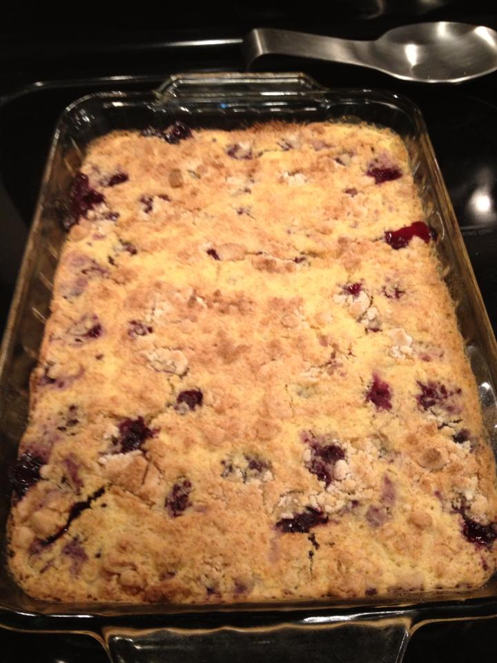 Cake Mix Cobbler Frozen Fruit