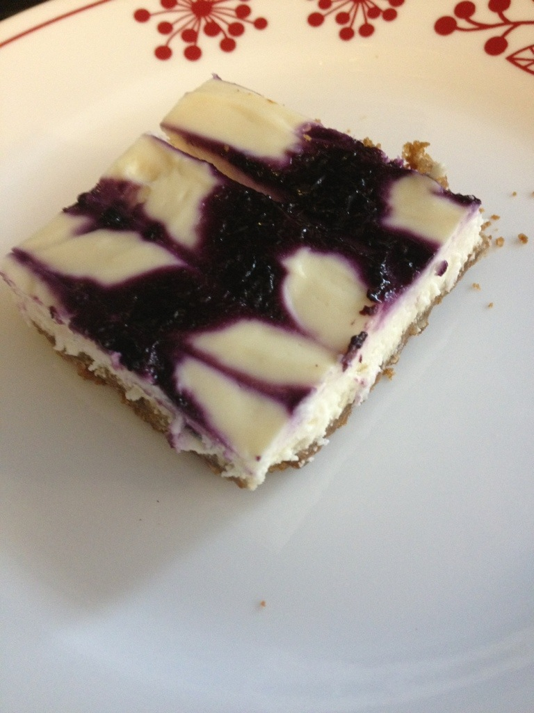 Blueberry Orange Cheesecake With Gingersnap Crust Mommy